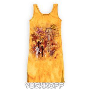 Платье Cassowary Tddsh 023 Burrunggui. 100% Cotton, 100% Original.